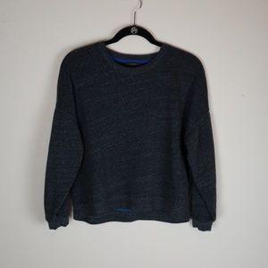 J Crew Sweatshirt Gray Sz M